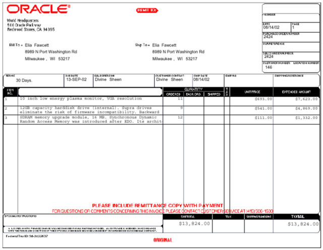 Invoice Document - Copy of invoice template